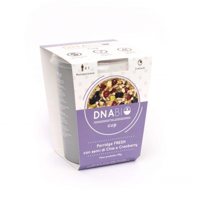 Porridge cu Chia si merisoare_DNA Bio_Ready to Eat_BioUp_A08ENG